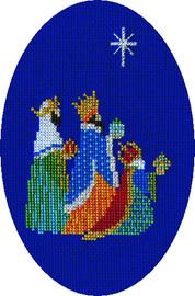Three Kings Card Cross Stitch Kit