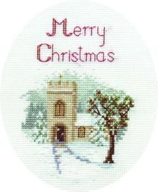 The Church Card Cross Stitch Kit