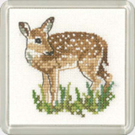 Fawn Coaster Cross Stitch Kit