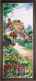 Thatched Cottage Cross Stitch Kit By Design Works