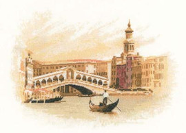 The Rialto Cross Stitch Kit By Heritage