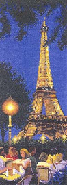 Paris Cross Stitch Kit