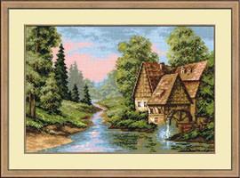 The Mill Cross Stitch Kit