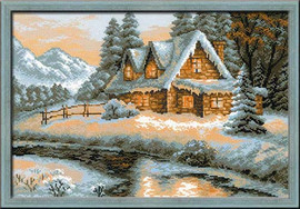 Winter View ~ Cross Stitch Kit
