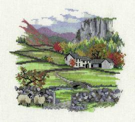 Cragside Farm Cross Stitch Kit