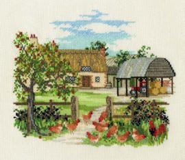 Appletree Farm Cross Stitch Kit