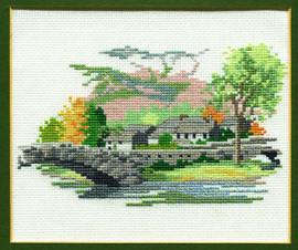 Grange In Borrowdale Cross Stitch Kit
