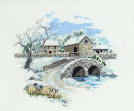 Winterbourne Farm Cross Stitch Kit