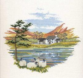 Lakeside Farm Cross Stitch Kit