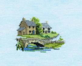 Minuets Brookside Cross Stitch Kit