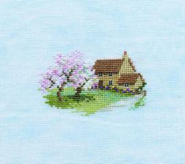 Minuets Orchard Cottage Cross Stitch Kit
