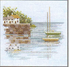 Minuets Quayside Cross Stitch Kit