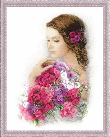 Summer Delight Cross Stitch Kit By Riolis