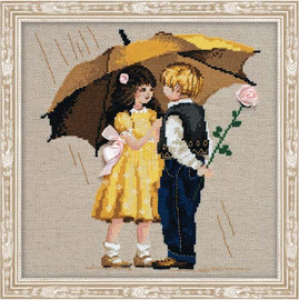 First Date Cross Stitch Kit