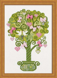 Tree Of Happiness Cross Stitch Kit