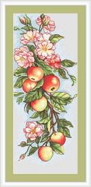 Apples Cross Stitch Kit By Luca S