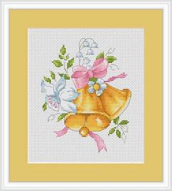 Golden Bells Cross Stitch Kit By Luca S