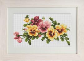 Violas Cross Stitch Kit By Luca S