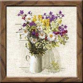 Wildflowers Cross Stitch Kit