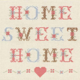 Heart Home Sweet Home Cross Stitch Kit