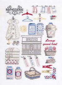 The Laundrey Cross Stitch Kit