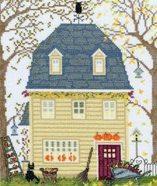 New England Homes - Autumn - Cross Stitch Kit