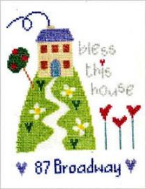 Address Sampler Cross Stitch Kit