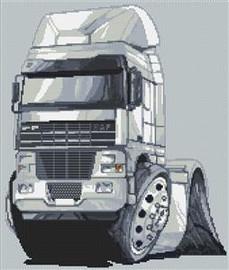 Daf 92 Truck Rig Cross Stitch Kit