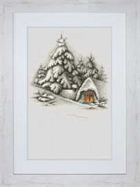 Winter Landscape Cross Stitch Kit By Luca-S