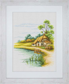 Landscape Cross Stitch Kit By Luca-S