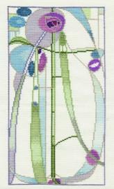 Mackintosh - Rose Boudoir Cross Stitch Kit