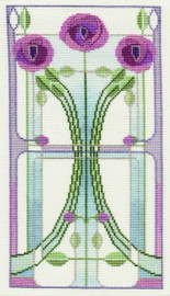 Mackintosh - Rose Bouquet Cross Stitch Kit