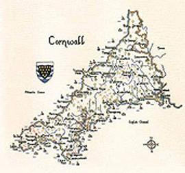 Cornwall Cross Stitch Chart By Heritage