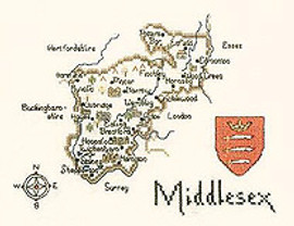 Middlesex Cross Stitch Kit By Heritage