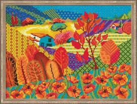 Meadow Of Fairytale Cross Stitch Kit By Riolis