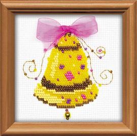 Happy Bells Bead Kit Cross Stitch Kit