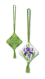Iris Chatalaine Cross Stitch Kit