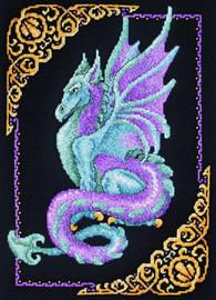 Mythical Dragon Cross Stitch Kit