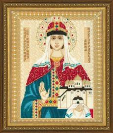 St Anna Of Novgorod Cross Stitch Kit By Riolis