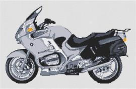 Bmw R1150Rt 2004 Motorcycle Cross Stitch Kit By Stitchtastic