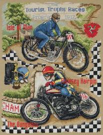 Tt Isle Of Man Cross Stitch Kit By Anchor
