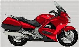 Honda Pan European  Motorcycle Cross Stitch Kit