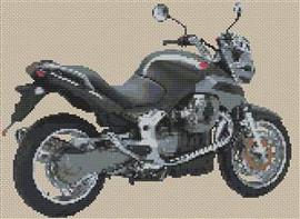 Moto Guzzi Breva 1100 Cross Stitch Kit