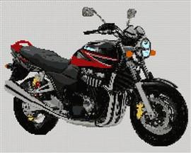 Suzuki Gsx 1400 Motorcycle Cross Stitch Kit
