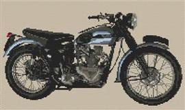 Triumph Trophy Motorbike Cross Stitch Kit