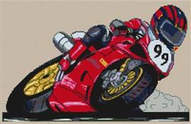 Racer 99 Cross Stitch Kit