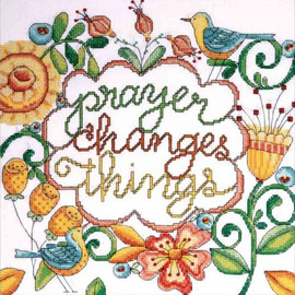 Prayers Cross Stitch Kit By Design Works