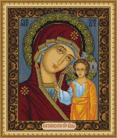 Icon M.D.De La Cazani Cross Stitch Kit By Luca S