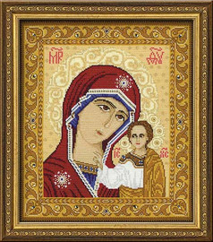 Our Lady Of Kazan Cross Stitch Kit