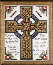 Celtic Cross Cross Stitch Kit By Design Works